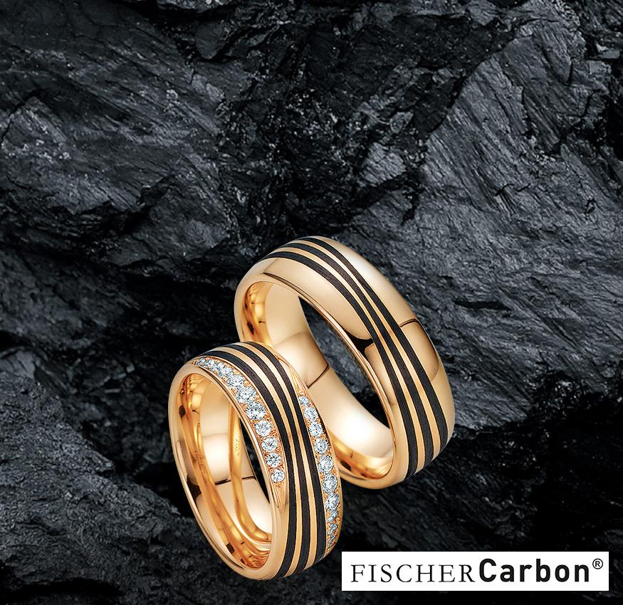 Kachel Carbon Trauringe