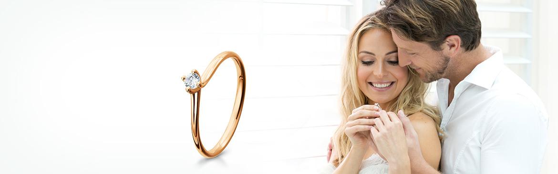 Verlobungsringe Rotgold Boblingen Ewige Ringe Trauringlounge